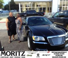 Congratulations to Odell Kirkwood on your #Chrysler #300 purchase from James Honeycutt at Moritz Chrysler Jeep Dodge RAM! #NewCar