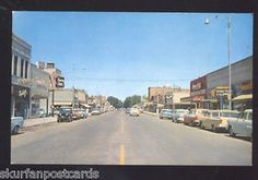 Downtown Ontario Oregon in the 19 fifties this is how it would have looked when my dad was growing up