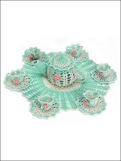 This is so adorable.    there are more doily patterns available for purchase    m