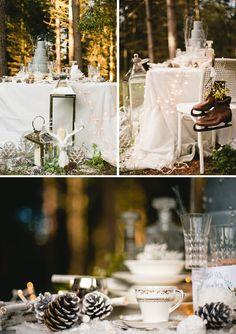 A Vintage Winters Tale @Rock My Wedding #rockmywinterwedding