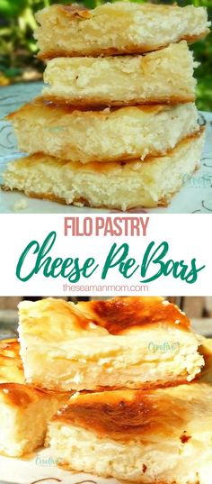 CHEESE PIE RECIPE WITH FILO PASTRY - This easy cheese pie recipe is a super simple yet extremely savory dessert and an unique delicacy! No special skills required, beginners will enjoy making it! Cheese Pie Recipe, Cheese Pies, Easy Cheese, Pastry Recipes, Pie Recipes, Dessert Recipes, Dessert Simple, Strudel, Brownies