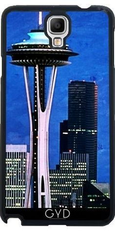 Hülle für Samsung Galaxy Note 3 Neo/Lite (N7505) - Blau Seattle Space Needle by Christine aka stine1 , http://www.amazon.de/dp/B01E660RNS/ref=cm_sw_r_pi_dp_NErvxbSAPTV03