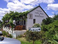 Napier Road Cafe - Napier - Overberg - Western Cape - South Africa. #Napier #farmstall Wonderful Places, Beautiful Places, Sa Tourism, Time For Africa, Provinces Of South Africa, Farm Houses, The Beautiful Country, Lush Garden, Small Shops