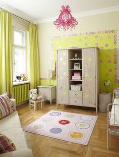 Dekoracja ściany w pokoju dziecka