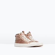 Image 2 of HIGH-TOP SNEAKERS from Zara