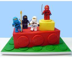 Lovely Cakes   lego cake
