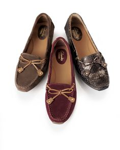 Clarks USA Fall 2013 Sneak Peek | Driver mocs | Women's shoes