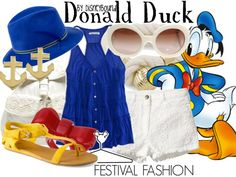 Disney Bound - Donald Duck.                   Want this!!!!!!!!!!!!!!!!!!!!!!!!!!!!!!!!!!!!!!!!!!!!!!!!!!!!!!!!!!!!