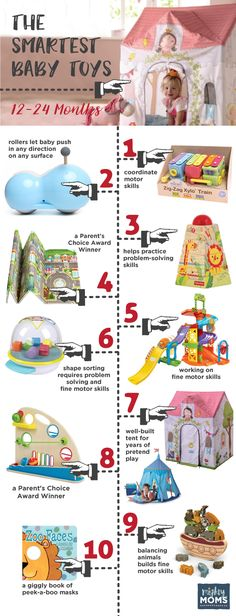 Smartest Baby Toys 12-24 Months ~ MightyMoms.club