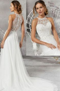 99 Fashionable Tea Length Wedding Dress Ideas To Try Asap part mariage mariage boheme champetre champetre deco deco robe romantique decorations dresses hairstyles Tea Length Wedding Dress, Perfect Wedding Dress, Best Wedding Dresses, Bridal Dresses, Wedding Gowns, Wedding Day, Garden Wedding, Wedding Dresses Halter Top, Wedding Dress Petite
