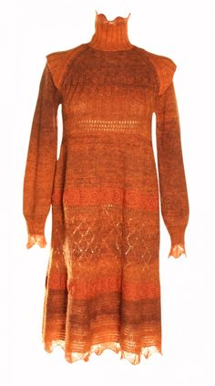 Jean Paul Gaultier Rustic Sweater Dress