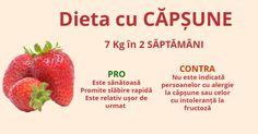 Dieta cu CAPSUNE - 7 Kg in 2 SAPTAMANI Strawberry, Fruit, Food, Essen, Strawberry Fruit, Meals, Strawberries, Yemek, Eten