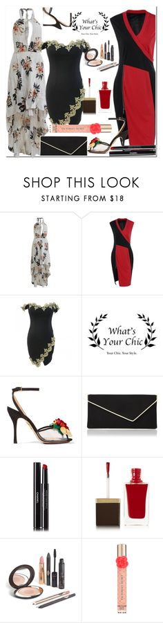 """""""Whats Your Chic"""" by fatimka-becirovic ❤ liked on Polyvore featuring Charlotte Olympia, L.K.Bennett, Chanel, Tom Ford, Victoria's Secret and WhatsYourchic"""