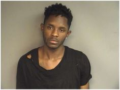 Donovan Carter, 21, of Stamford, was charged with crashing a parking attendant's mini van while trying to steal it and being too drunk to drive Photo: Stamford Police / Contributed