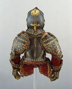 Armor of Infante Luis, Prince of Asturias