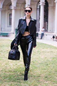 17 look in lingerie di Bella Hadid