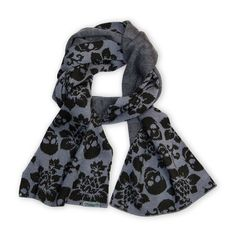 Loungefly Skull With Flowers Scarf - Loungefly