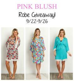 Pink Blush Robe Giveaway