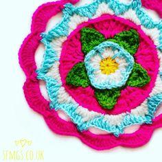 Spring Monet Mandala | Free Crochet Pattern | SFMGS | Bloglovin'
