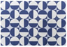 "Gio Ponti ""Eclissi"" Fabric. Made in Italy, Busto Arsizio. 1950/2010. Official…"