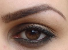 My Beauty Rules: Smokey dark green eye look for deep set eyes using...