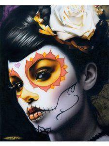 Day of the Dead Sugar Skull Costume