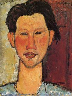 Amedeo Modigliani Portrait of Chaïm Soutine 1915 36 x 27.5 cm Oil on wood Staatsgalerie Stuttgart