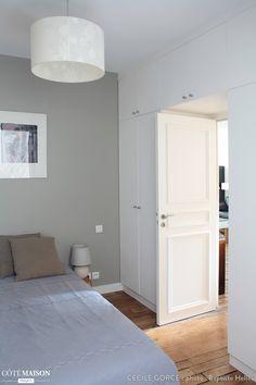 Placards Surmesure Portes Ouvrantes Chambre Filles Pinterest - Porte placard coulissante avec serrurier levallois perret