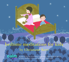 Bedtime Meditations for Kids - Free Tools for Children Yoga Teachers. #kidyoga