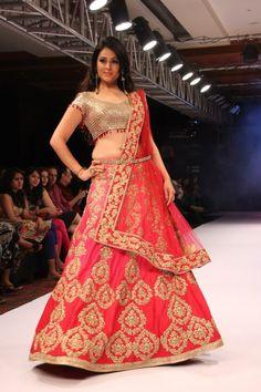 IT'S PG'LICIOUS — #india bridal week #lehenga