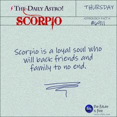 Scorpio Daily Astro!: Ok, you know what your sign is.  But do you know what your Birth Moon is?  Visit iFate.com today and find out!