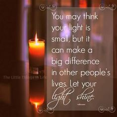 Your light...