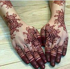 Modern and Attractive Red Mehndi Designs - Kurti Blouse Finger Henna Designs, Mehndi Designs 2018, Modern Mehndi Designs, Wedding Mehndi Designs, Mehndi Designs For Fingers, Mehndi Designs Book, Mehndi Mano, Arte Mehndi, Mehendi