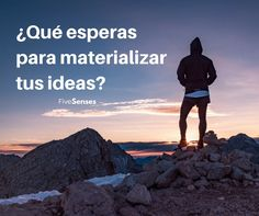 Así de simple, ¿Qué esperas para materializar tus ideas? #goforit #inspiration #FiveSenses