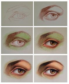 Draw Eyes Realistic Drawing a realistic eye with pastel pencils. Colour Pencil Shading, Color Pencil Art, Pastel Drawing, Pastel Art, Crayon Drawings, Colored Pencil Artwork, Realistic Eye Drawing, Pastel Portraits, Pastel Pencils