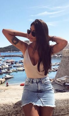 Swans Style is the top online fashion store for women. Shop sexy club dresses, jeans, shoes, bodysuits, skirts and more. Sexy Outfits, Fall Outfits, Summer Outfits, Casual Outfits, Cute Outfits, Fashion Outfits, Cute Fashion, Fashion Looks, Looks Jeans