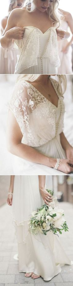 vintage boho lace wedding dress #weddingdresses #weddingdress #bohowedding