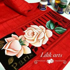 Stencils, Napkins, Tattoos, Tableware, Grande, Bath Towels & Washcloths, Hand Towels, Face Towel, Painting Inspiration