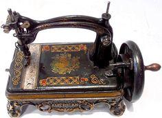 Antique Sewing Machine AMERICAN - circa 1871.