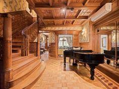 Opulent Upper West Side townhouse with 24-karat gold ceilings asks $17.65M
