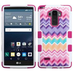 Lg G Stylo LS770 Camo Wave/Hot Pink TUFF Hybrid Case Cover :: CellPhoneCases.com