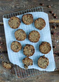Sprøde nøddecookies - veganske og glutenfrie - Vanlose Blues