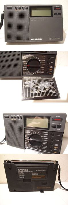 Ham Radio Receivers: Grundig Traveler Ii Digital G8 Am Fm Mw Sw Lw Shortwave Radio Auto Tuning Storag -> BUY IT NOW ONLY: $40 on eBay!
