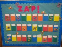 ZAP! Review Game ~ When a team answers a question correctly they follow the directions on the ZAP card....and the fun begins!