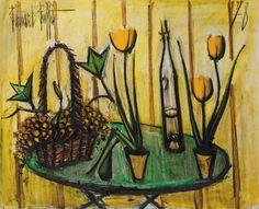 Bernard Buffet (1928-1999) | Nature morte aux tulipes | 1970s, Paintings | Christie's