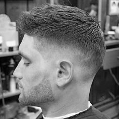 31 Inspirational Short Military Haircuts for Men 2018 Guys haircuts fade Mens military haircut Mens haircuts fade Short hair styles for men Mens hairstyles short fade military Dude haircuts Curly Hair Hawk Over Lengths Americans Barber Haircuts, Cool Mens Haircuts, Cool Short Hairstyles, Best Short Haircuts, Popular Haircuts, Boy Hairstyles, Wedding Hairstyles, Man Short Hairstyle, Fade Hairstyles For Men