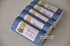 Chocolate personalizado – Minions  :: flavoli.net - Papelaria Personalizada :: Contato: (21) 98-836-0113 vendas@flavoli.net