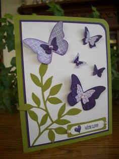 Easter Butterflies by stampin'nana - Cards and Paper Crafts at Splitcoaststampers