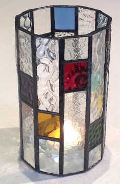 Confetti Candle Lantern in Art Deco style by LoveDecoLanterns