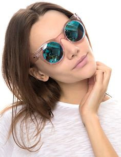 Pixie Market Mink Pink Up and Away Pink Sunglasses - $52